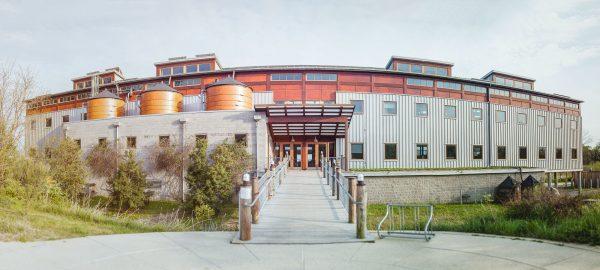 panorama of the Chesapeake Bay Foundation facility